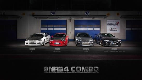 Nissan Skyline R34 GT-R (BNR34) Combo - nachher Ergebnis