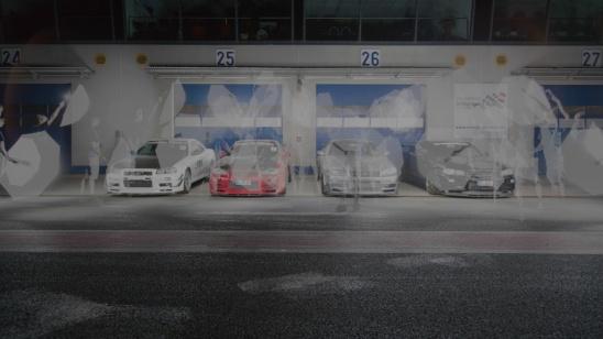 Nissan Skyline R34 GT-R (BNR34) Combo - vorher Making Of