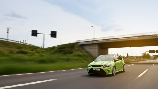 Ford Focus RS Rolling