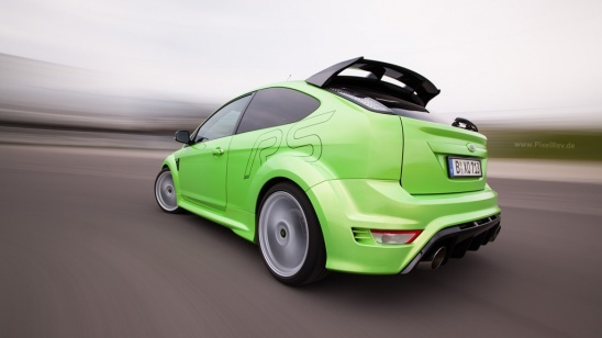 Ford Focus RS Rig