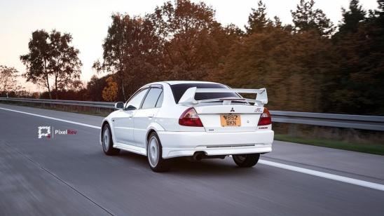 Mitsubishi Lancer Evolution 6 TME Rolling