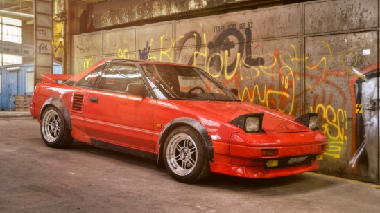 Toyota MR2 W1 Targa \'89