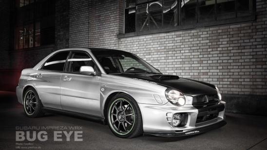 Subaru Impreza WRX Night