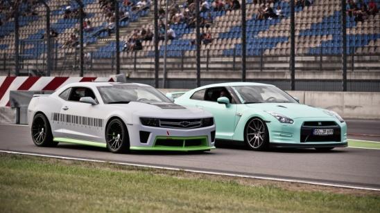 J.P. Kraemer Nissan GT-R, Cyndie Allemann