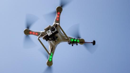 Hinter den Kulissen - Quadrocopter mit GoPro