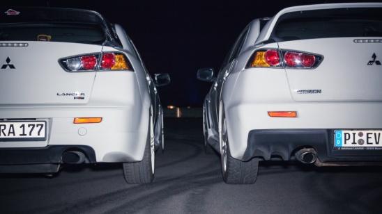 Mitsubishi Lancer Evolution X Duo