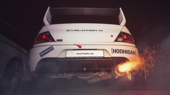 Mitsubishi Lancer Evolution IX Backfire
